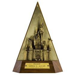 Disneyland 15-Year Service Award.