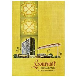 "Disneyland Hotel ""Gourmet Restaurants"" Menu."