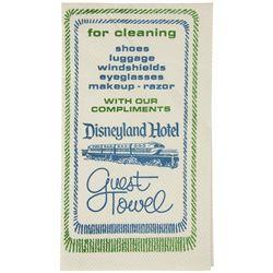 Disneyland Hotel Guest Towel.