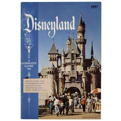 1957 Disneyland Guidebook.