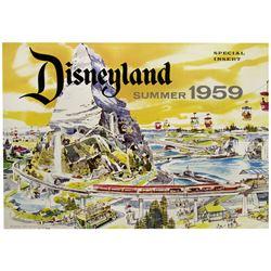 Disneyland Summer 1959 Special Insert.