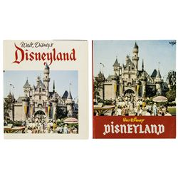 "Pair of ""Disneyland"" Hardcover Guidebooks."