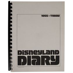 Disneyland Diary Park History Book.