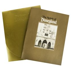 The Spirit of Disneyland 30th Anniversary Book.