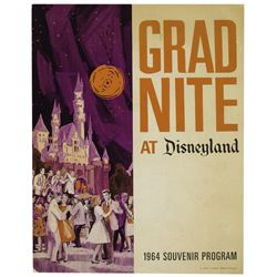 Grad Nite 1964 Souvenir Program.