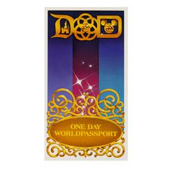 Disney Parks One Day  World Passport .