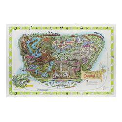 1964-B Disneyland Map.