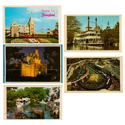 Set of (5)  Colorful Scenes from Disneyland  Mailers.