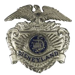 Disneyland Security Hat Badge.