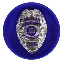 Disneyland Security Officer Badge .