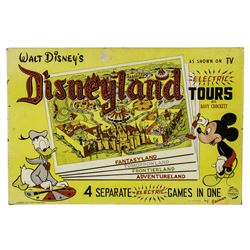 "Disneyland ""Electric Tours"" Game Set."