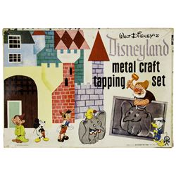 Disneyland Metal Craft Tapping Set.