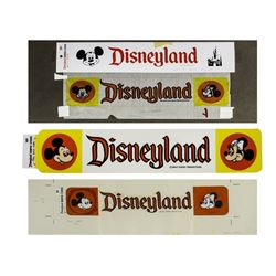 Original Disneyland Bumper Sticker Artwork.