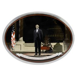 Great Moments with Mr. Lincoln Prototype Plate.