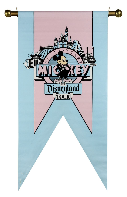 Mickey S 60th Birthday Disneyland Banner