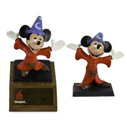 Pair of Disneyland 35th Anniversary Cast Member Awards.