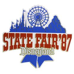 State Fair '87 Lamppost Sign.