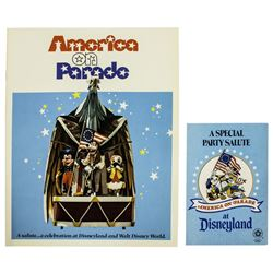 America on Parade Guidebook & Parade Route Flyer.