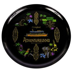 Adventureland Souvenir Plate.