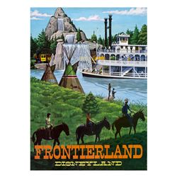 "Frontierland ""Near-Attraction"" Poster."