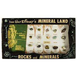 Mineral Land Rocks and Minerals Kit.