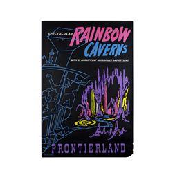 "Original Rainbow Caverns"" Attraction Poster."