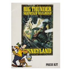 Big Thunder Mountain Railroad Press Kit.