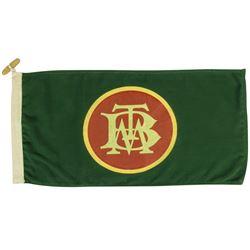 Big Thunder Mountain Railroad Train Car Flag.
