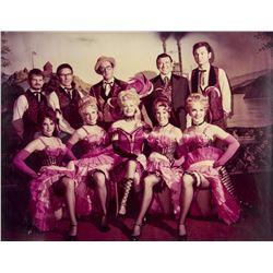 Golden Horseshoe Revue Cast Photo.