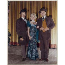 Wally Boag, Betty Taylor, & Fulton Burley Group Photo.