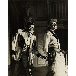 Fulton Burley, Betty Taylor, & Bert Henry Performance Photo.