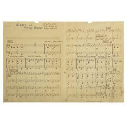 Clancy Sheet Music.
