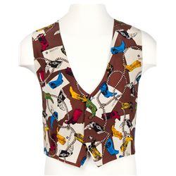 Fulton Burley Boots-Pattern Vest.