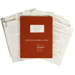 Fulton Burley Disneyland Scripts Collection.