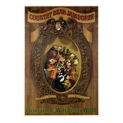 Country Bear Jamboree Attraction Poster.