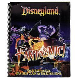 """Disneyland """"Fantasmic!"""" Spiral-Bound Notebook."""