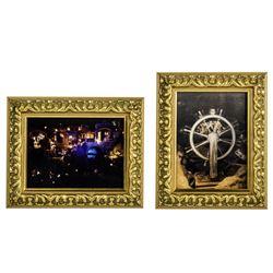"Pair of ""Pirates"" Framed Lenticular Photos."