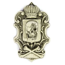 Randotti Pirate Crest Plaque.