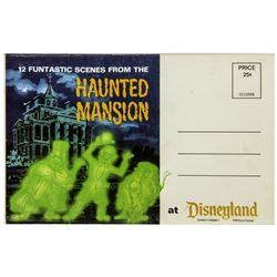 Haunted Mansion Fold-Out Photo Mailer.