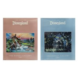 "Pair of ""The Art of Disneyland"" Disney Gallery Posters."