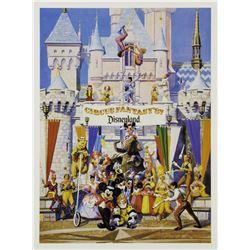 """Disneyland """"Circus Fantasy"""" Poster."""