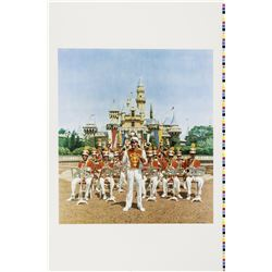 Disneyland Band Charles Boyer Print Test.