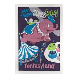 Fantasyland Attraction Poster.