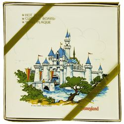 Sleeping Beauty Castle Tile in Box.