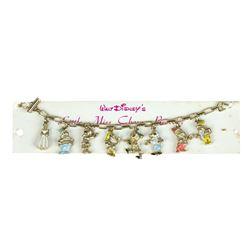 "Disneyland ""Snow White"" 8-Charm Bracelet."