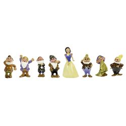 "Complete ""Snow White"" Hagen-Renaker Figurine Set."