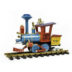 """Casey Jr."" Electric G-Scale Model Train."