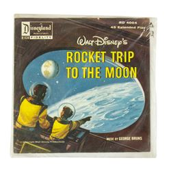 "Unopened ""Rocket Trip to the Moon"" Record."
