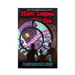 "Original ""20,000 Leagues Under the Sea"" Attraction Poster."
