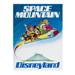 Space Mountain Promotional Poster.
